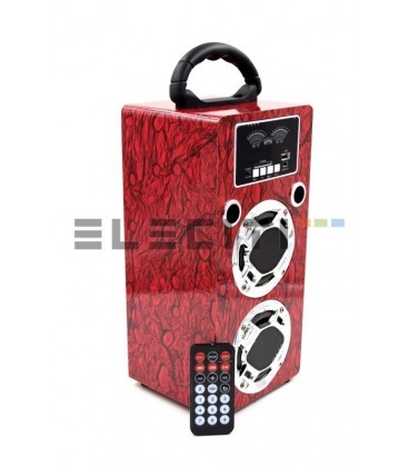 Speaker subwoofer MP3 + player great sound HIFI with USB and LED lights Mod:ELEIT106
