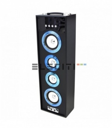 Large Tower Wireless Bluetooth Speaker with Microphone USB Player and FM Radio MOD:ELEKBQ707