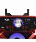 Speaker Tower with Bluetooth Connection and Karaoke Function MP3 Player by USB and LED Lights MOD: ELET750
