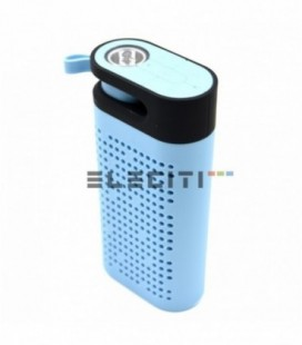 Bluetooth Speaker Power Bank 4400mAh Battery Portable LED Flashlight MOD: ELETG06