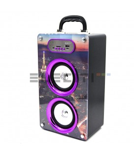 Speaker Baffle with Bluetooth MP3 Player with USB and FM Radio MOD: ELEKBQ162