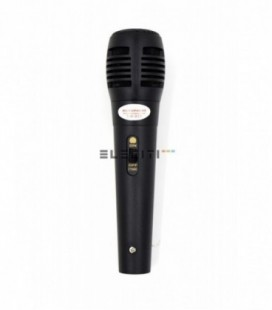 Unidirectional dynamic cable microphone Mod.ELE10525