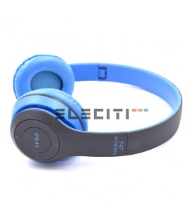 Wireless Stereo Bluetooth Headset with FM Radio and MicroSD Reader MOD:ELEP47