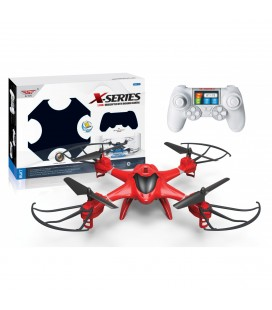 Drone a control demoto RC Quadcopter y luces LED