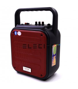 MP3 player speaker with USB and guitar amplifier function MOD: ELEA64