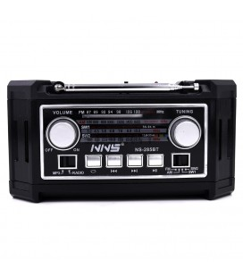 Altavoz Bluetooth Retro con Radio FM/AM ELENS285BT