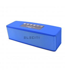 Mini Barra de Sonido Portable con Bluetooth y Radio FM ELES206