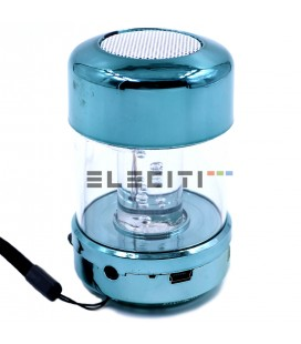 Mini Bluetooth Speaker with Light Bubbles ELEWS808