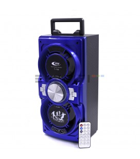 Loudspeaker Wireless Bluetooth Karaoke + Microphone & USB Player LED Lights MOD: SUPT736ER