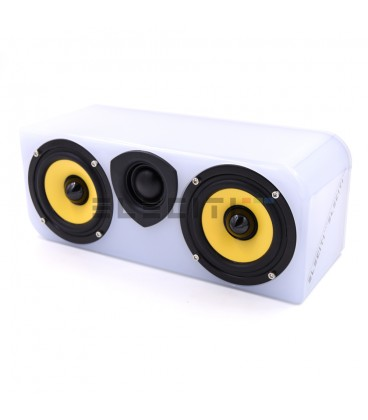 Altavoz Cool Life Inalámbrico Bluetooth con USB con Cuerpo Luminoso LED Multicolor