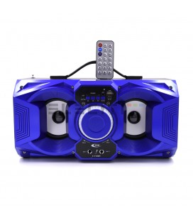 Wireless Bluetooth Speaker with Karaoke and Microphone USB Player with LED Lights MOD: ELET719