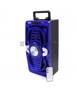 Loudspeaker Wireless Speaker Bluetooth Tower with Karaoke and Microphone USB Player with LED Lights MOD: ELET735