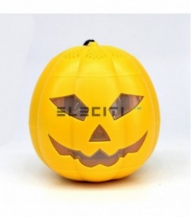 Mini Halloween Pumpkin Speaker with Bluetooth and LED Lights MOD: ELE8614